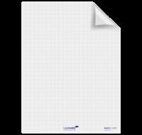 Rouleau 25 feuilles MagicChart - LEGAMASTER - 60  x 80 cm - Blanc quadrillé version Permanente