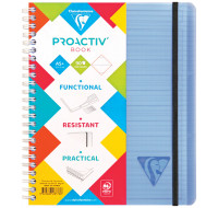 Cahier Proactiv Book - CLAIREFONTAINE - A - Lignes - 180 pages