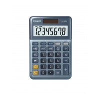 Calculatrice de bureau MS-88EM - CASIO - Bleu