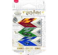Lot de 3 gommes blanches Harry Potter - MAPED