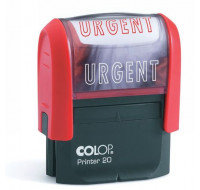 "Tampon Printer 20 COLOP -  Formule Commerciale ""URGENT"" - Rouge"