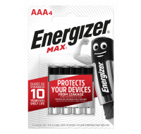 4 Piles AAA Max - Energizer