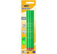Lot de 10 crayons graphite HB Evolution - BIC