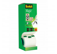 Tour 8 Rouleaux invisible - SCOTCH - 19mmx33m