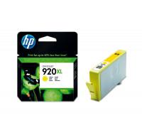 Cartouche d'encre HP 920 XL (CD974A) - Jaune
