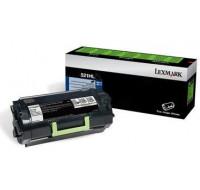 Toner laser 52D0H0N - Lexmark - Noir