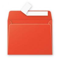 Lot de 20 enveloppes 90 x 140 - POLLEN - 120g - Rouge corail