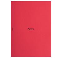 Chemise actes 31 x 22 cm - EXACOMPTA - Rouge