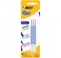 Lot de 3 recharges Gel-Ocity Illusion - BIC - Bleu