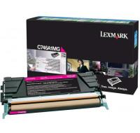 Toner laser C746A1MG - Lexmark - Magenta