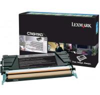 Toner laser C746H1KG - Lexmark - Noir