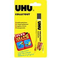 Tube de colle ultra-forte multi-matériaux - UHU - 20ml