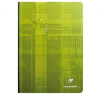Cahier à brochure - CLAIREFONTAINE - A4 - 288 pages - 90g - 5x5
