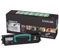 Toner laser E352H11E - Lexmark - Noir - Grande Capacité