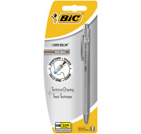 Porte-mine rechargeable - BIC - 2 mm - Argenté