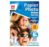 180 Feuilles papier photo A6 - MICRO APPLICATION - 200g