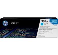 Toner laser HP 304A (CB531A) - Cyan