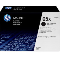 Toner laser 05X (CE505X) - HP - Noir