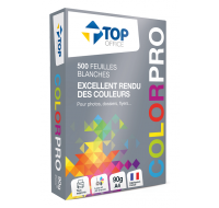 Ramette de papier ColorPro - TOP OFFICE - 500 feuilles - A4 - 90g