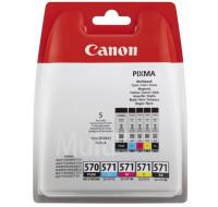Cartouche d'encre 0372C004 - Canon - CMJN + 1 Noir Pigment