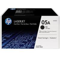 Toner laser CE505D - HP - Noir