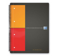 Activebook - OXFORD -  Format A4+ - 160  pages - Petits carreaux