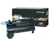 Toner laser X792X1CG - Lexmark - Cyan