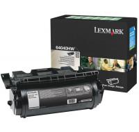 Toner laser 64040HW - Lexmark - Noir