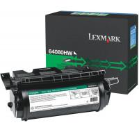 Toner laser 64080HW - Lexmark - Noir