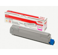 Toner laser 43487710 - Oki - Magenta