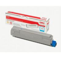 Toner laser 43487711 - Oki - Cyan