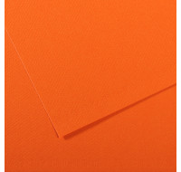 Feuille à dessins mi-teinte - CANSON - 160g - 50x65 - Orange