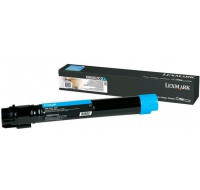 Toner laser X950X2CG - Lexmark - Cyan - Grande Capacite
