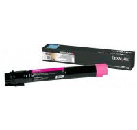 Toner laser X950X2MG - Lexmark - Magenta - Grande Capacite