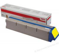 Toner laser 45536413 - Oki - Jaune