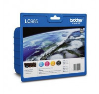 Value pack BROTHER LC985 - Couleur