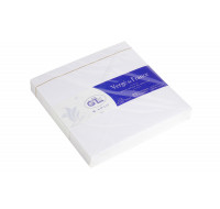 25 enveloppes  14x14 cm - Vergé gommées doublées - G.LALO - 150g - Extra blanc
