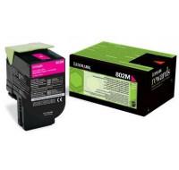 Toner laser 80C20M0 - Lexmark - Magenta