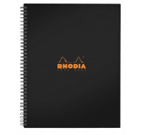 Notebook Rhodiactive - RHODIA - A4 - 160 pages - 90g - Petits carreaux
