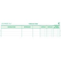 Carnet encaissement dupli - 13520E - EXACOMPTA - 29,7 x 21 cm