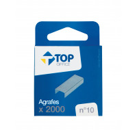 Lot de 2000 agrafes n°10 - TOP OFFICE