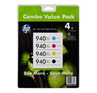 Pack cartouches d'encre HP 940 XL - Noir et couleurs