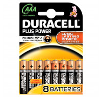 8 Piles LR03 Plus Power - DURACELL