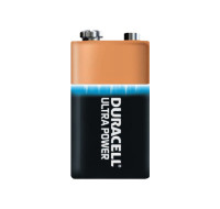 1 Pile Alcaline 9V Ultra Power - DURACELL