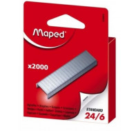 Lot de 2000 agrafes 24/6 - MAPED