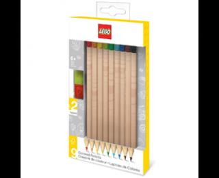 Crayons de couleurs - LEGO - Embout fantaisie