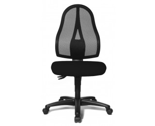 Open point Chaise de bureau Noir xdQeWBoErC