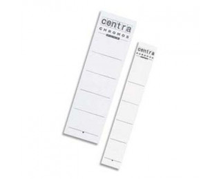 Lot de 10 étiquettes pour classeur - ESSELTE - Dos 75 mm
