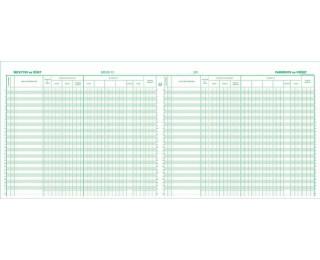 Journal de caisse, de banque ou de chèques postaux- 6810E - EXACOMPTA - 27 x 32 cm