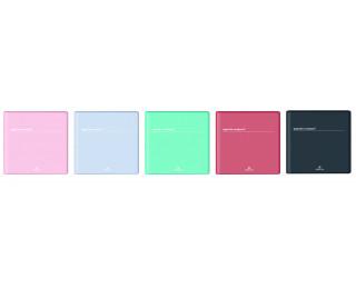 Agenda scolaire semainier Compact Boreal - OBERTHUR - 16 x 16 cm